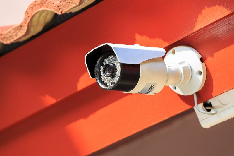 Security camera or CCTV in home